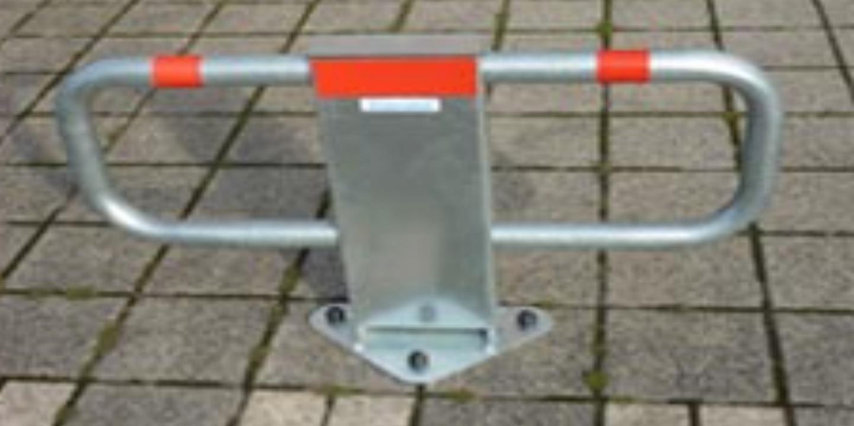 parkbügel 2000 – mechanische parkplatzsperre   bebarmatic